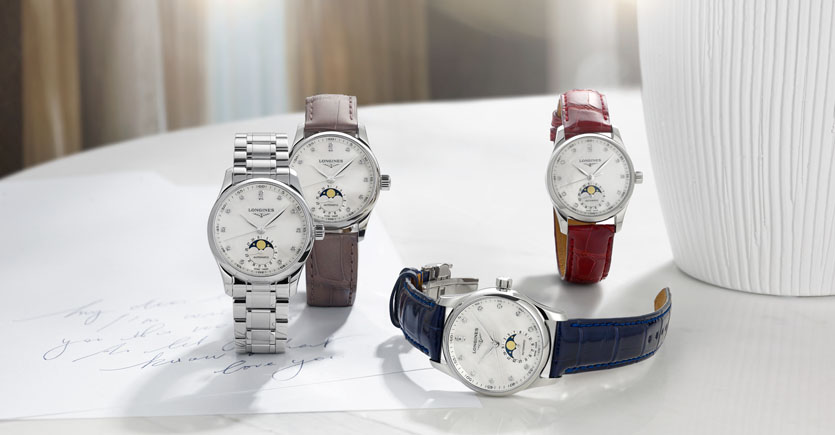 Longines Master Collection Moonphase Lady